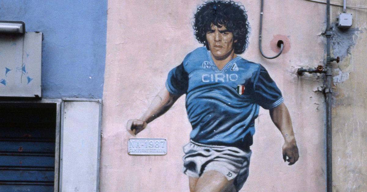 Diego Maradonasta