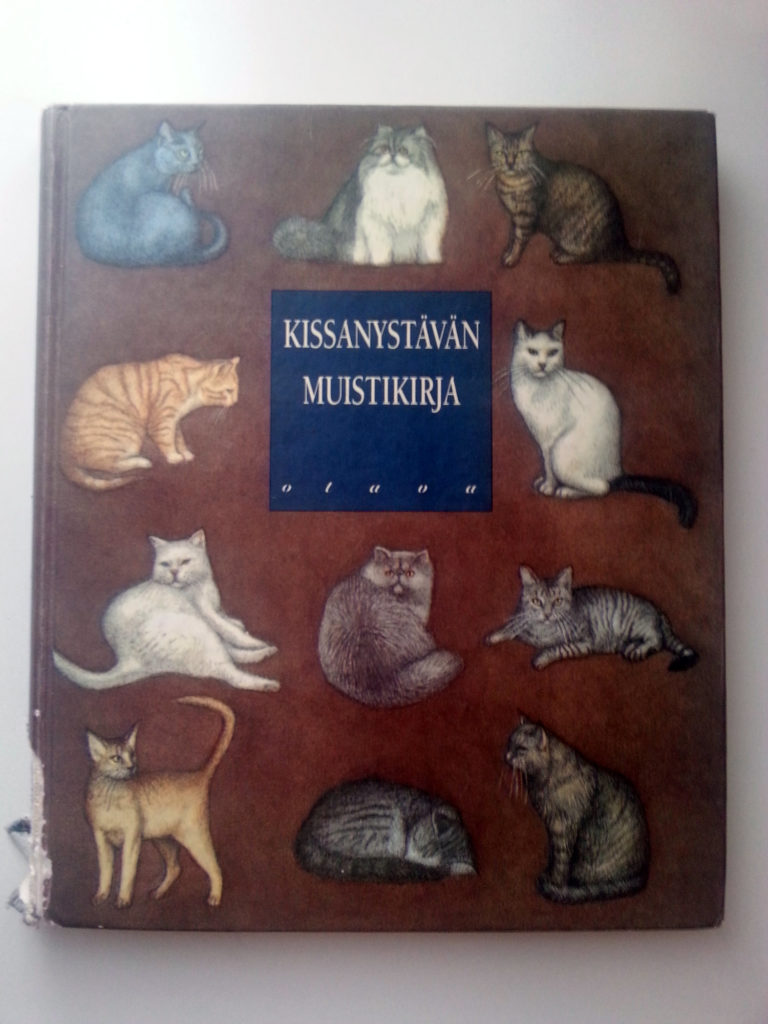 kissa muistikirja