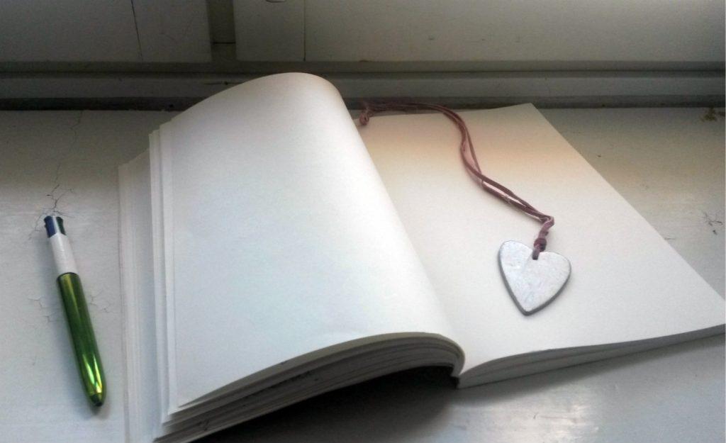 muistikirja avoin