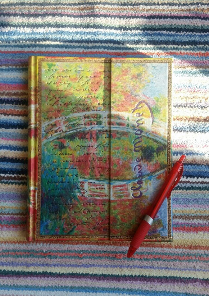 Muistikirja värikäs