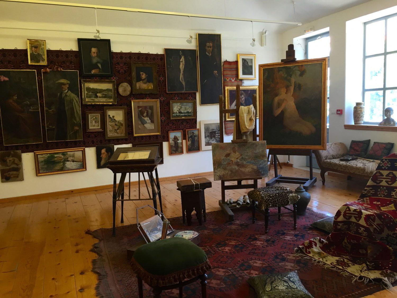 kroatia taiteilijakoti