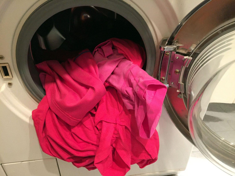 pyykki, liikuntavaatteet