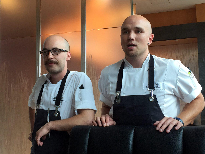 Hiltonin mestarit, Mikael Mihailov ja Sami Lyly.