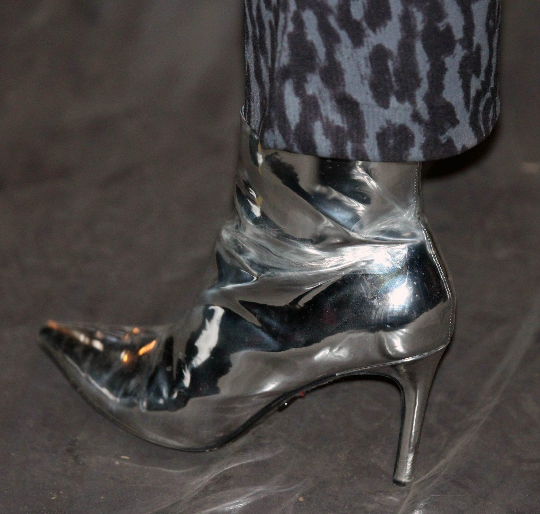 kengät hopea