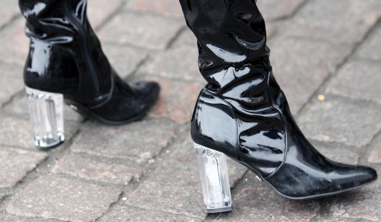kengät läpinäkyvät korot