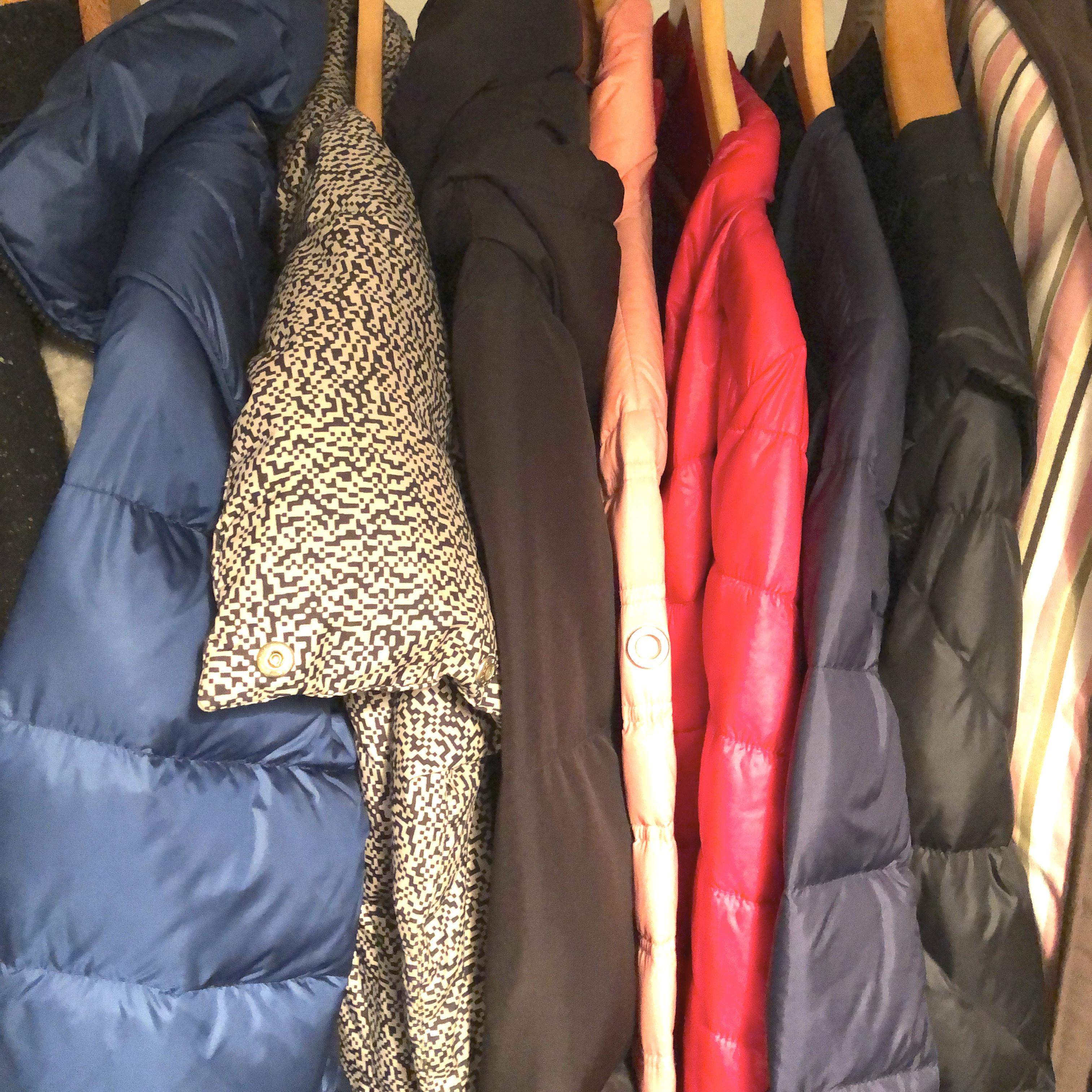 untuvatakin pesu takit roikkumassa