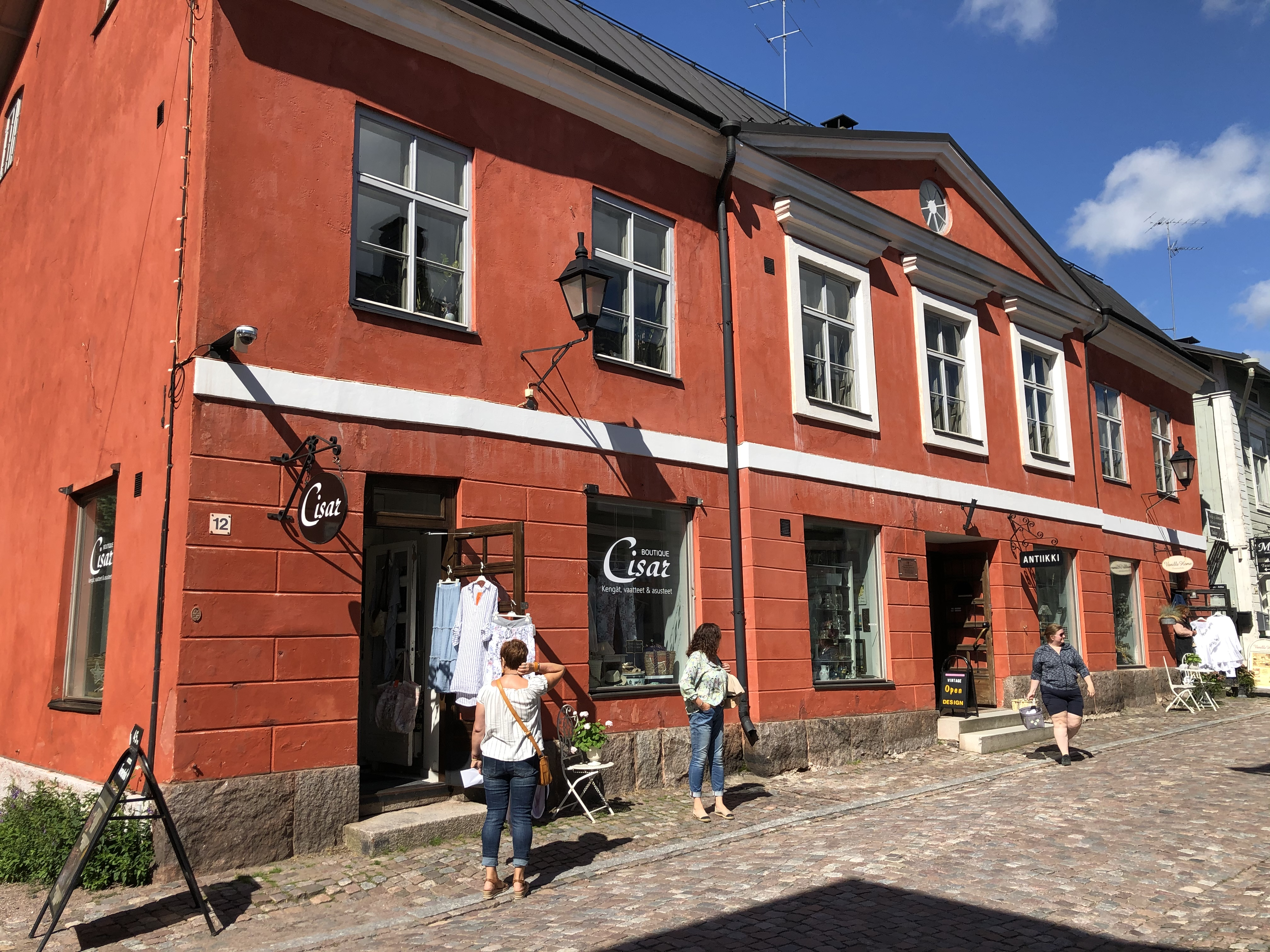 Porvoon ruokapaikat ja kahvilat Porvoon linna
