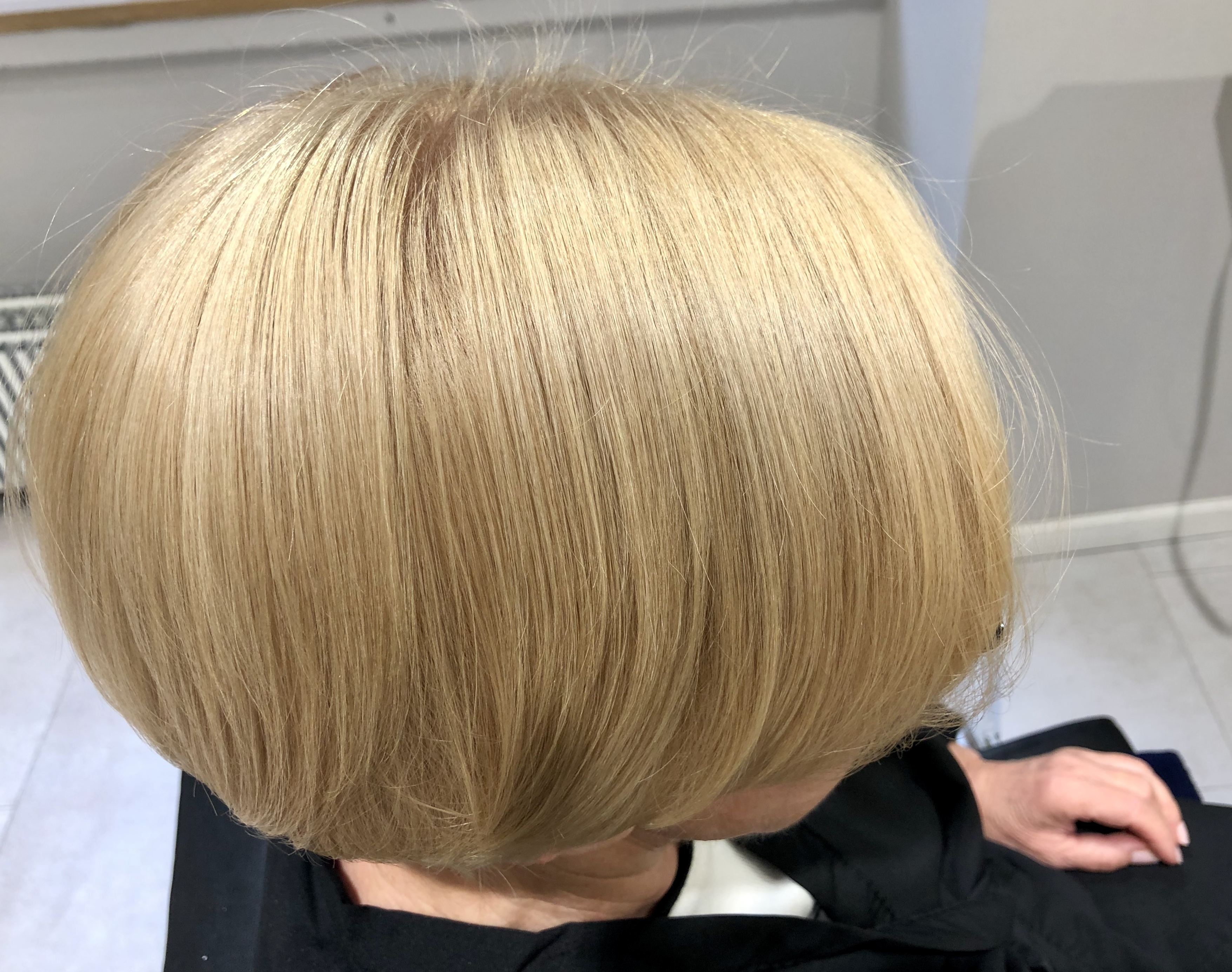 Hiusten tehohoito lopputulos