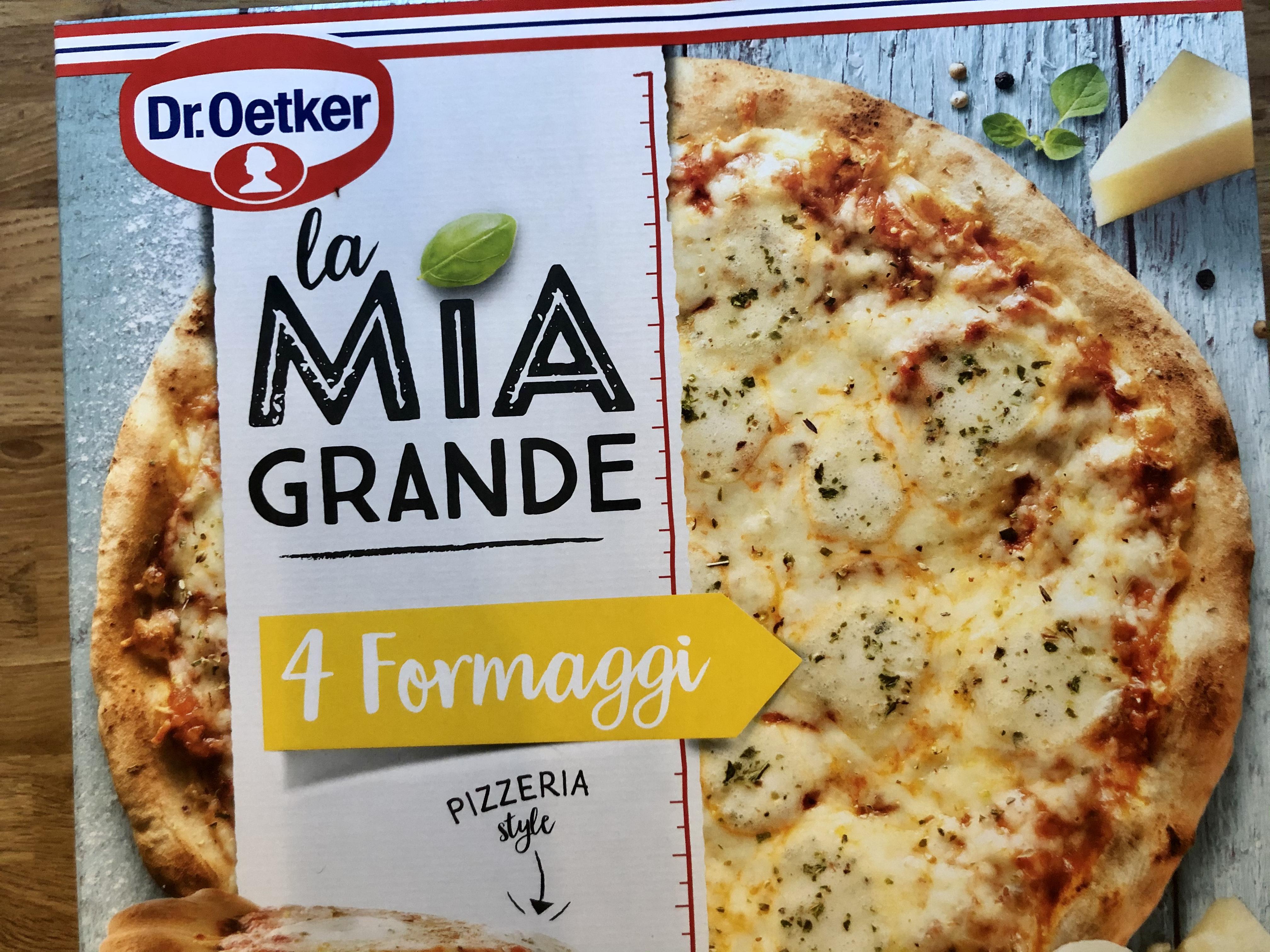 Pakastepizza 4 juustoa paketti