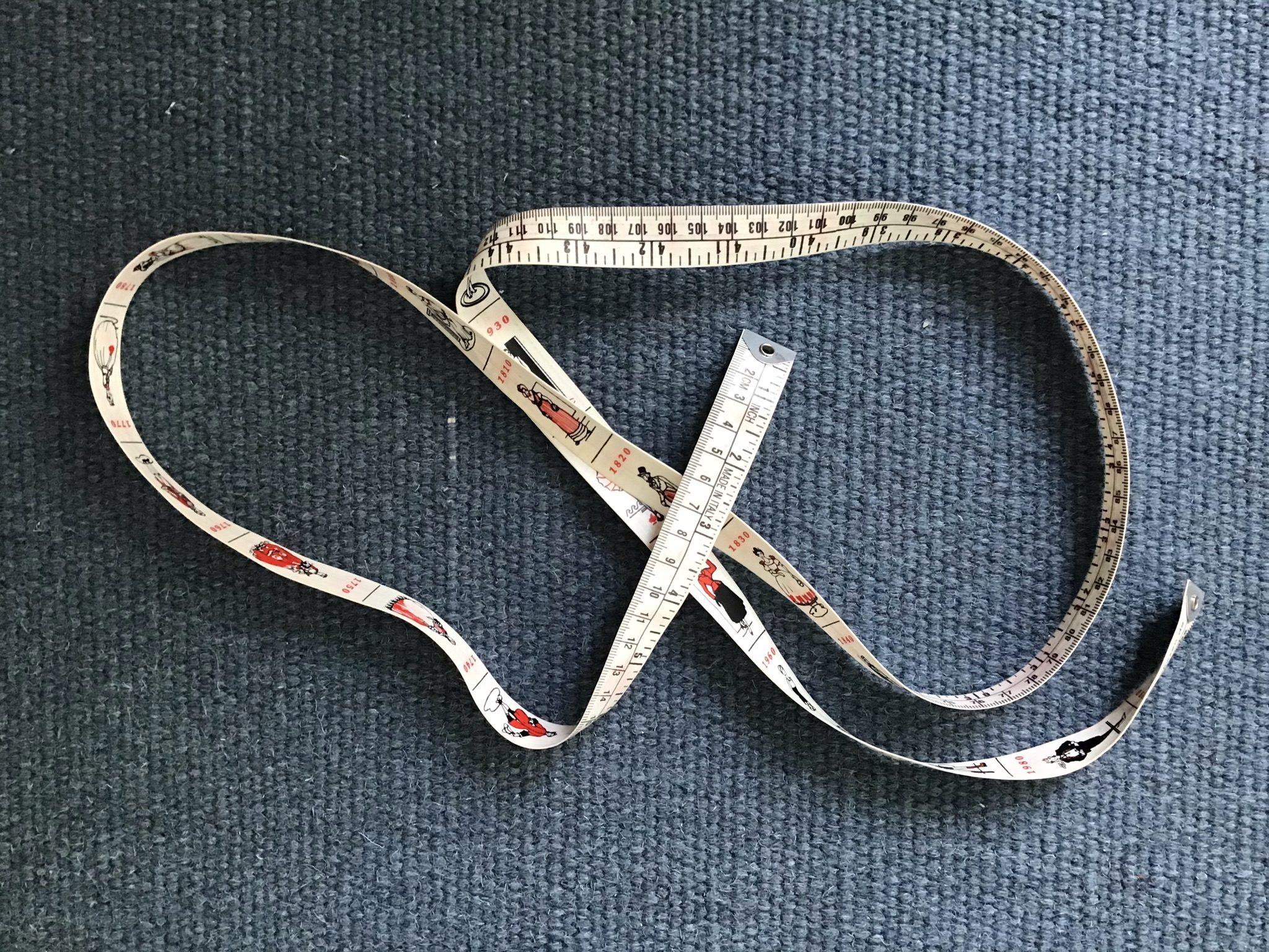 vartalon mittojen ottaminen mittanauha