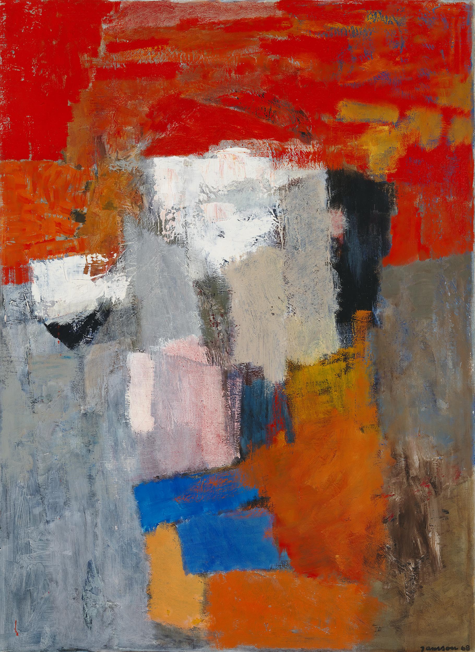 Tove Jansson -näyttely abstrakti