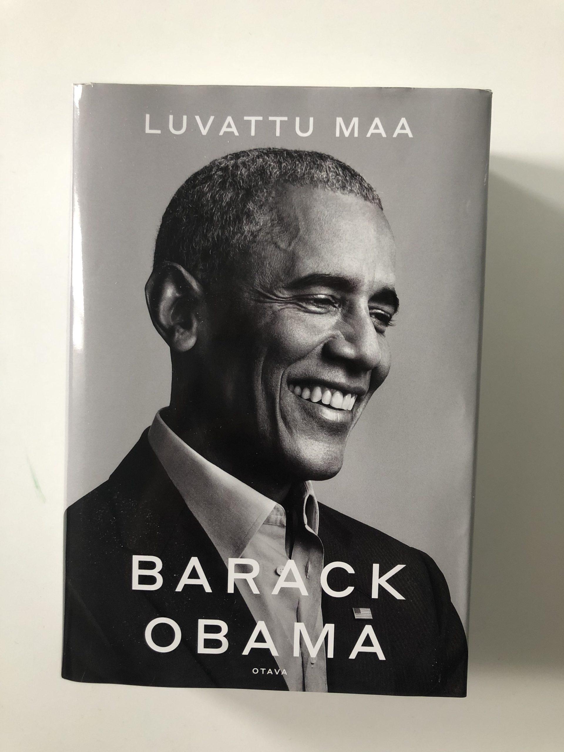 Kirjavinkit barack obama ja viihdettä