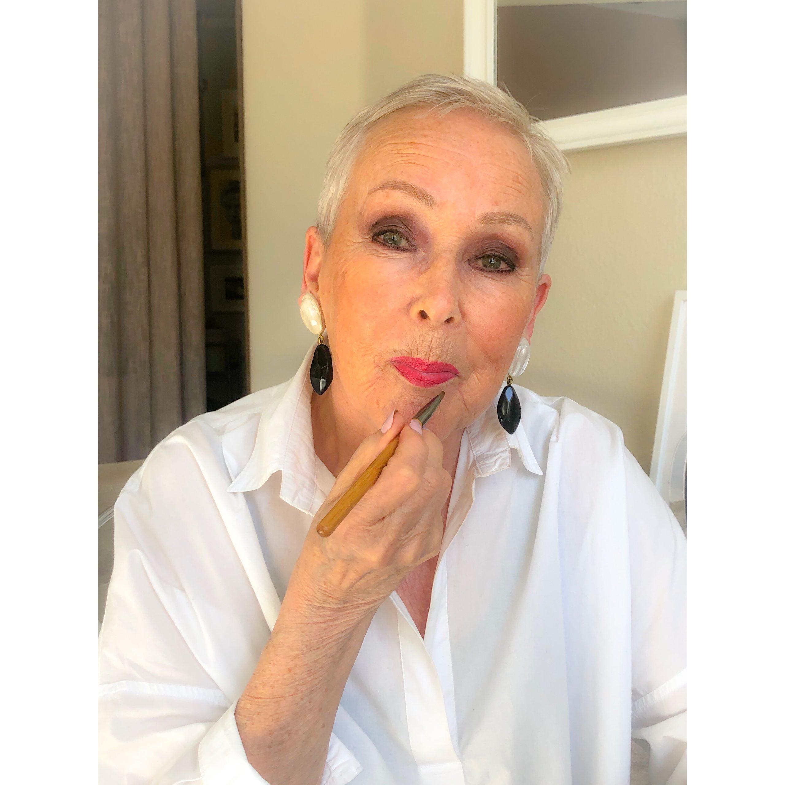 Hyvä meikkisivellin huulipunasivellin