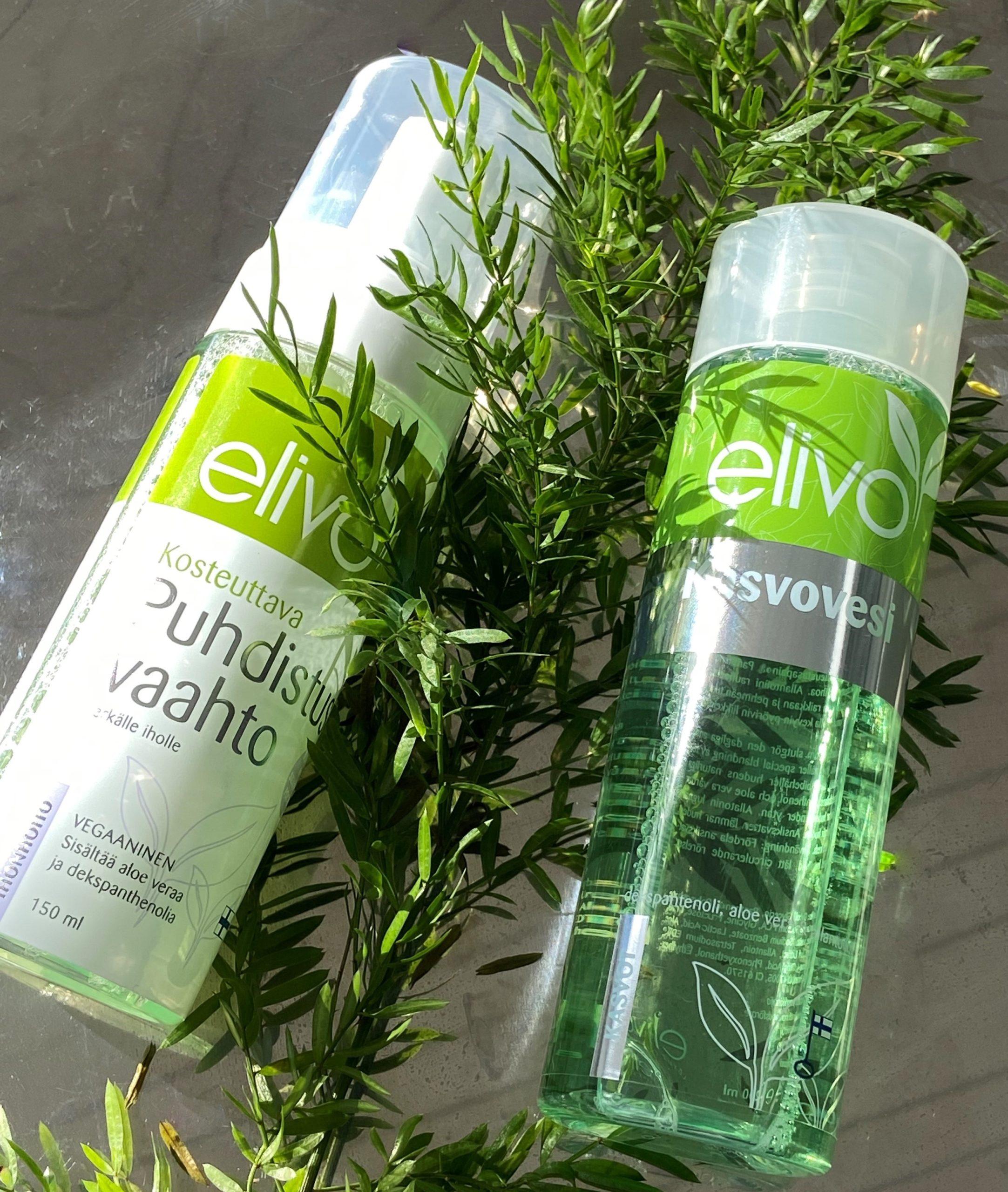 kokemuksia Elivo-tuotteista putsari ja kasvovesi