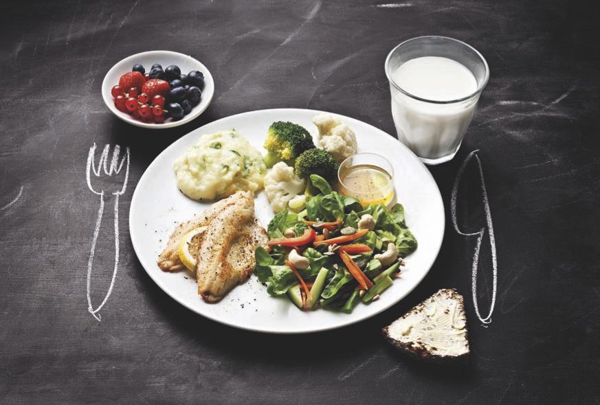 terveellinen ruokavalio lautasmalli