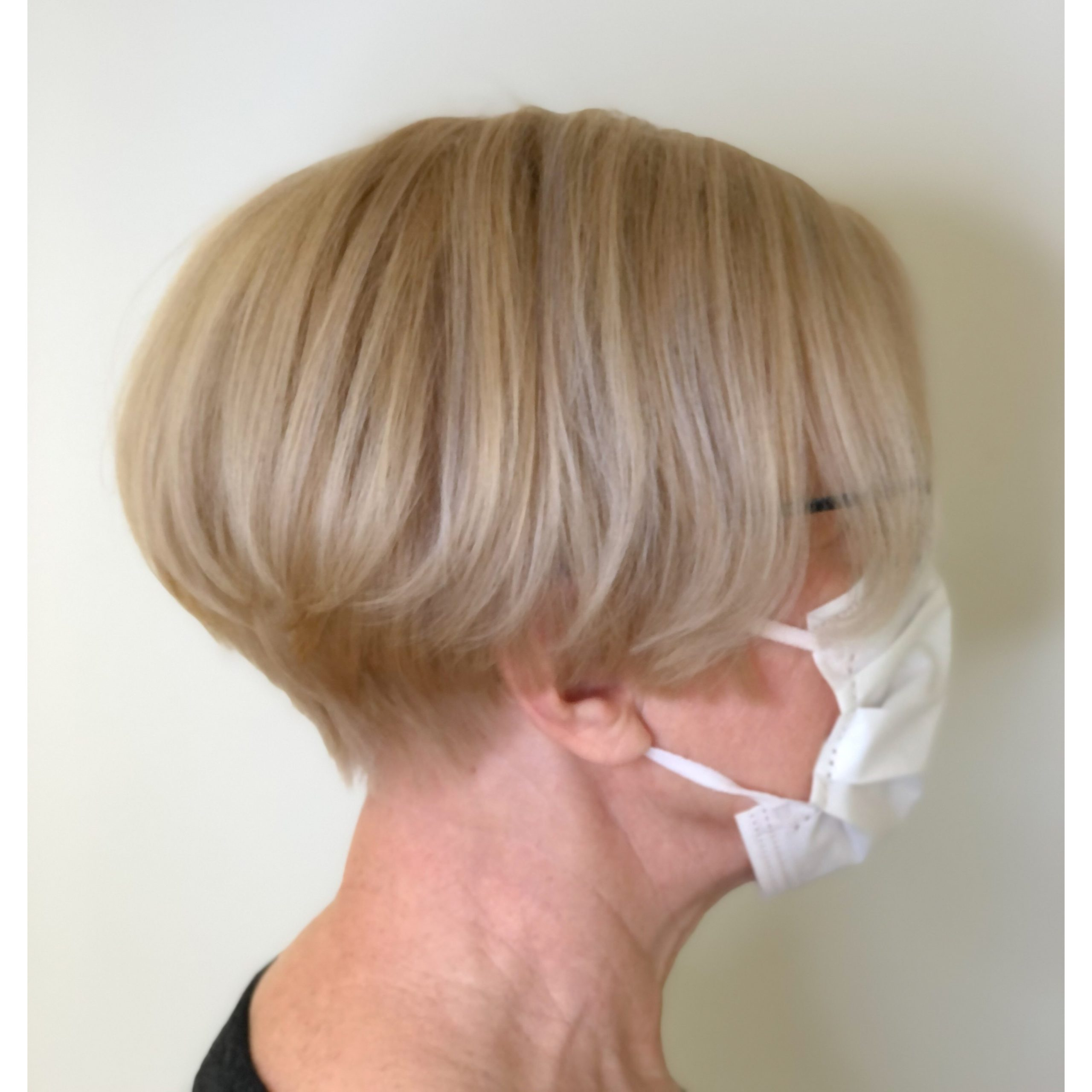 hiusten laminointi lopputulos