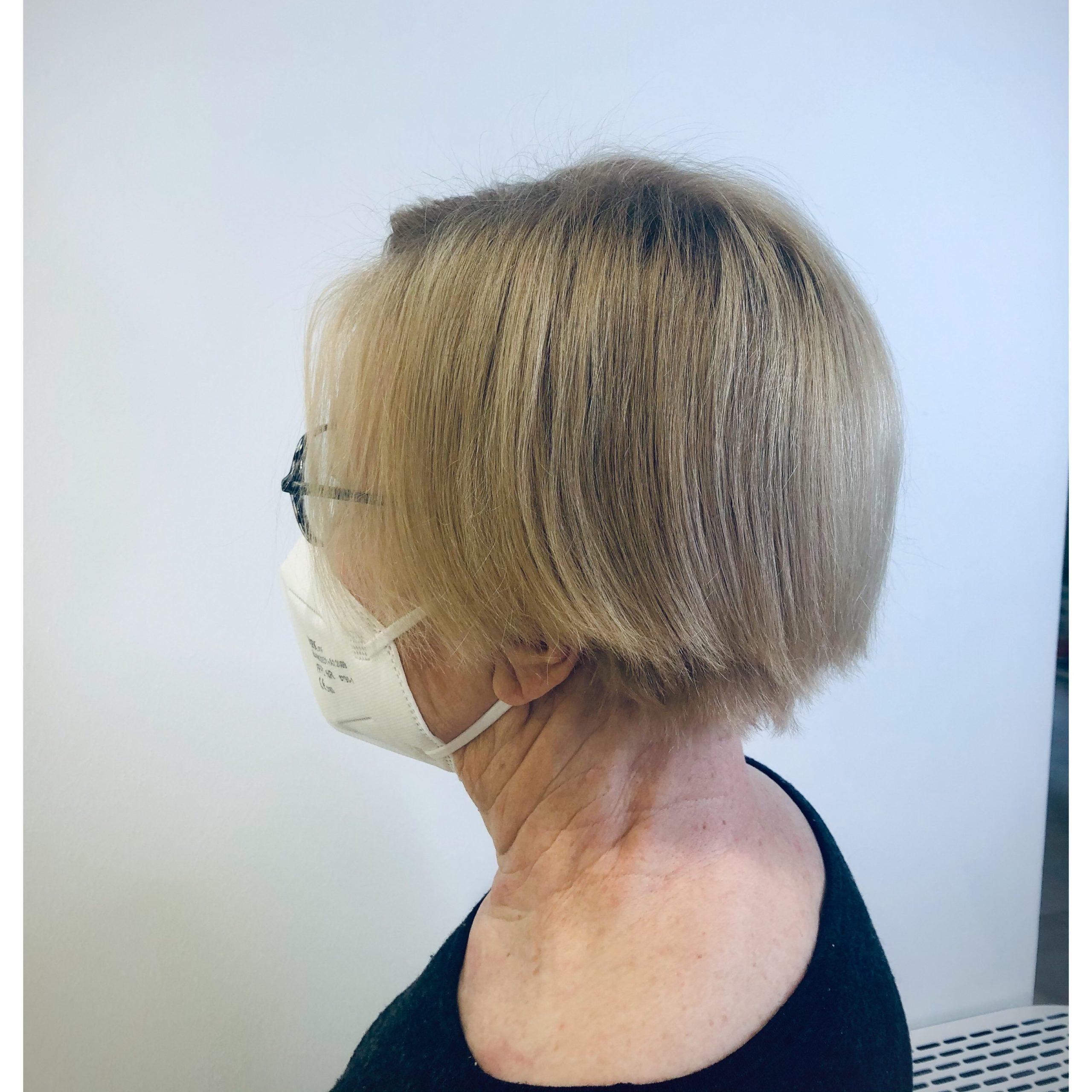 hiusten laminointi lähtötilanne