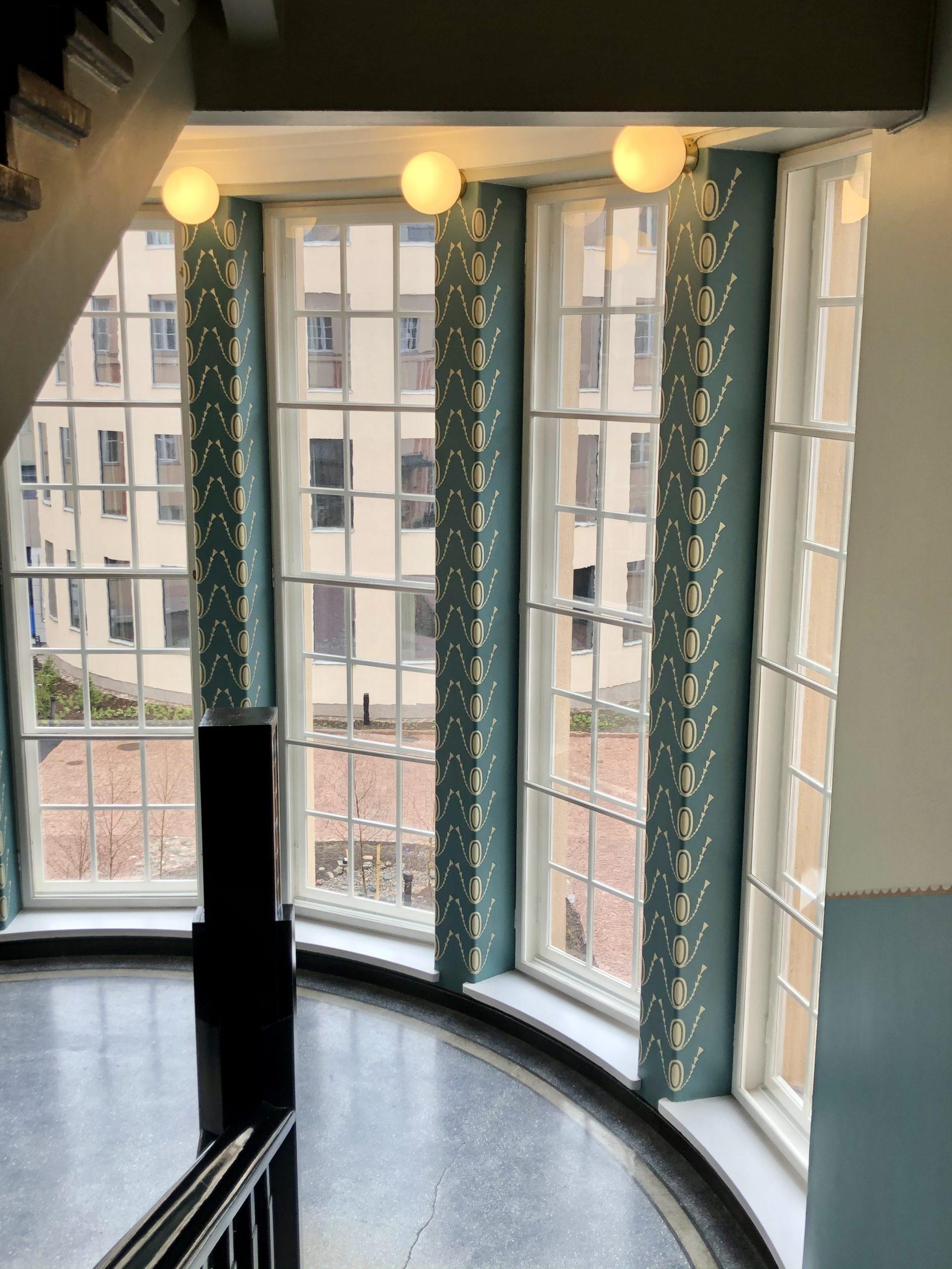 Scandic Grand Central tarjoaa hotellielämyksen portaikko