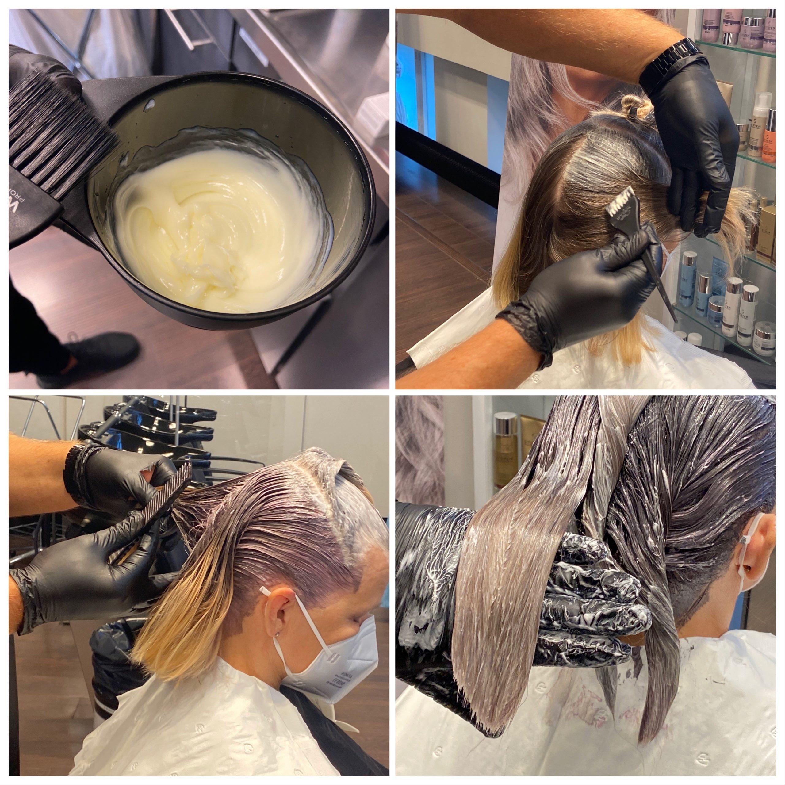 harmaantuvien hiusten