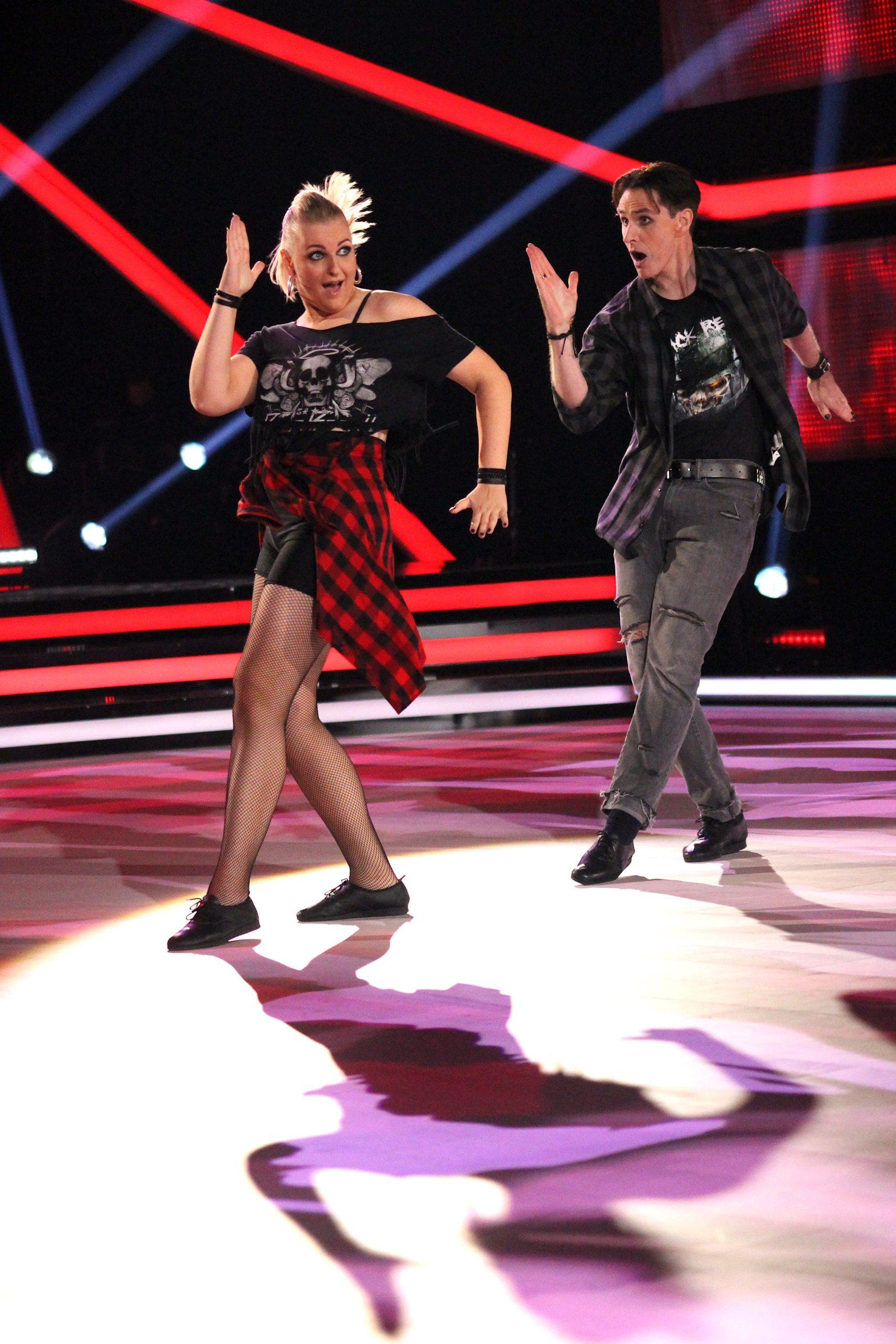 tanssii Tähtien Kanssa -ohjelmassa todella tanssitaan.