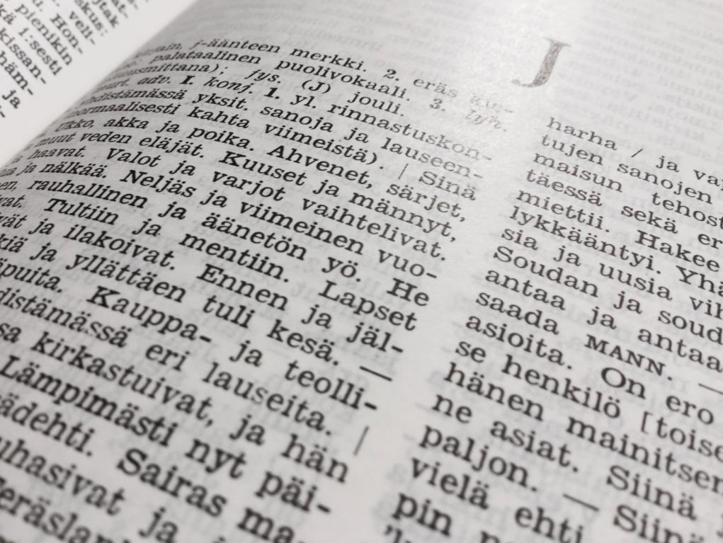 Nykysuomen Sanakirja Ilmainen