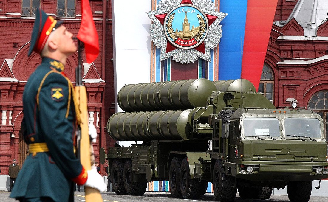 Military parade celebrating the 66th anniversary of Victory in the Great Patriotic War. Photo: RIA Novosti