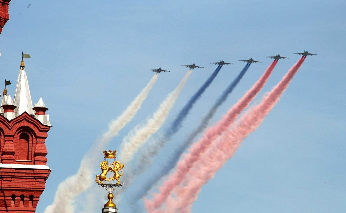 Military parade celebrating the 68th anniversary of Victory in the Great Patriotic War. Photo: kremlin.ru