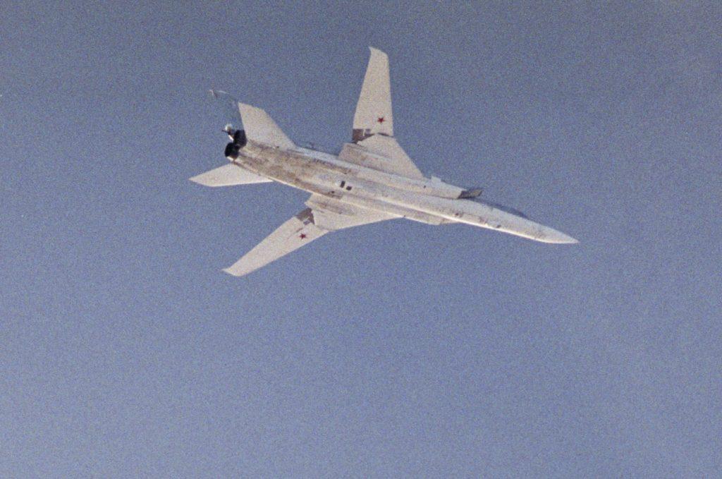Tupolev Tu-22M3. Bild: Försvarsmaken (Sverige).