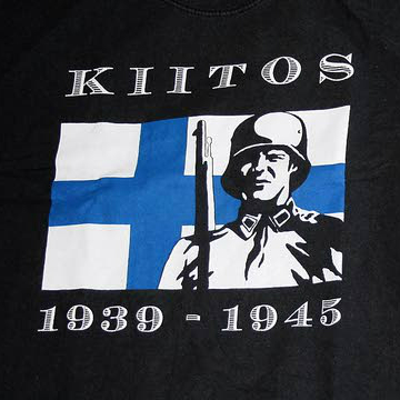 """Bild av en """"Kiitos 1939-1945"""" t-shirt."""