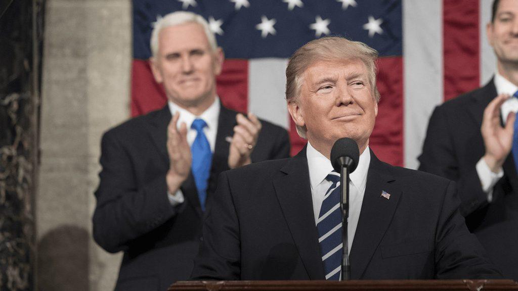 USA:s president Donald J. Trump. Bild: Whitehouse.gov (CC BY 3.0 US)