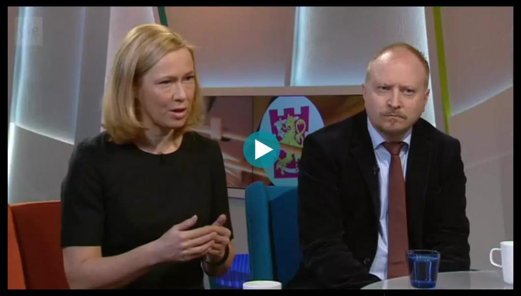 Ylen Aamu-TV 18.12.2017: Tiedustelun tietovuoto ja journalismi. Klikkaa kuvaa siirtyäksesi Areenan videoon.