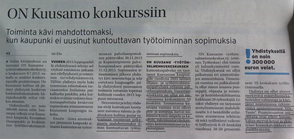 ON Kuusamo