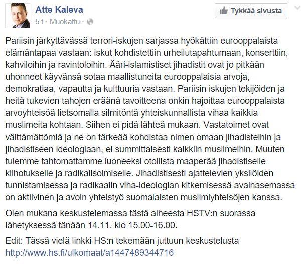 atte kaleva