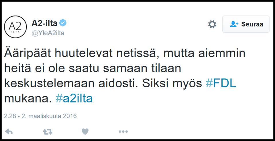 Quo vadis, Yle?
