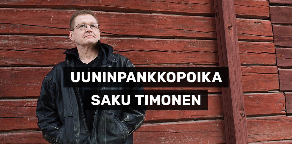 Vihanlietsonnan ruma kuva  Uuninpankkopoika Saku Timonen