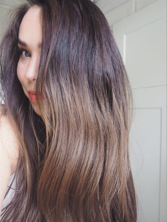 upea kiilto hiuksiin