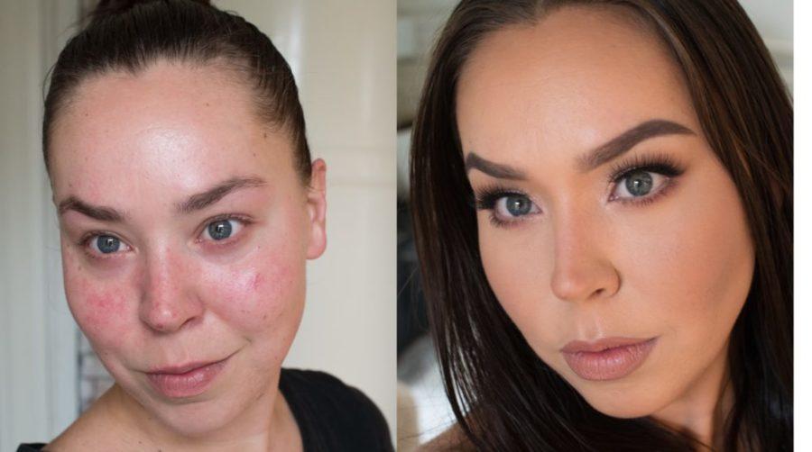 meikki ennen ja jälkeen