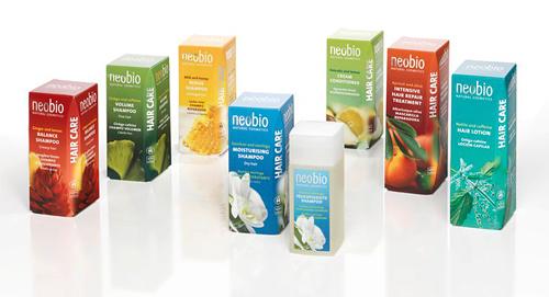 NeoBion hiustuotteet