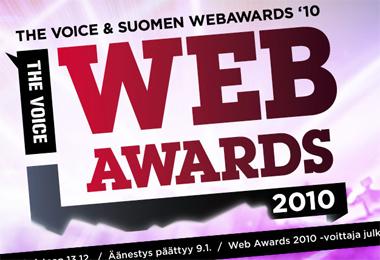 Voice WebAwards – mitä puuttuu?