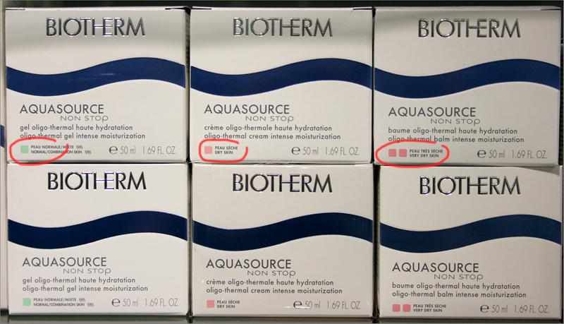 Biotherm_pakkaukset