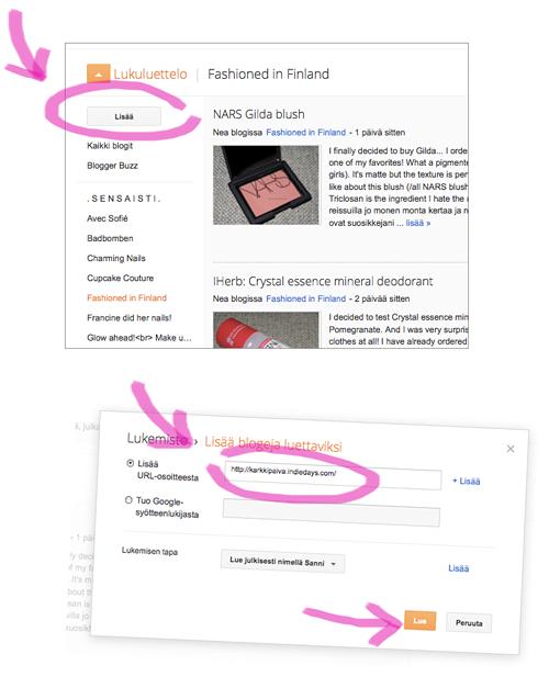 Karkkipäivä Bloggerissa ja Facebookissa