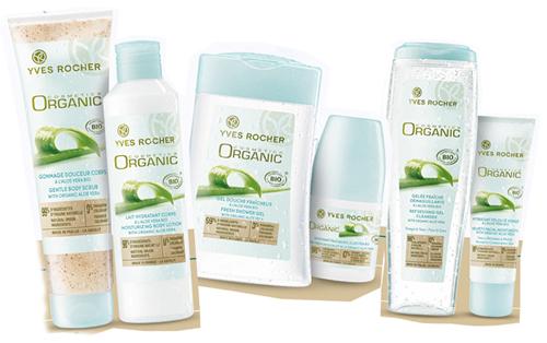 Yves Rocher Organic Cosmetics