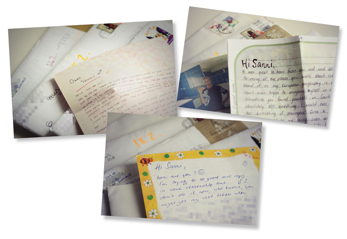 Retroharrastus: kirjeenvaihto