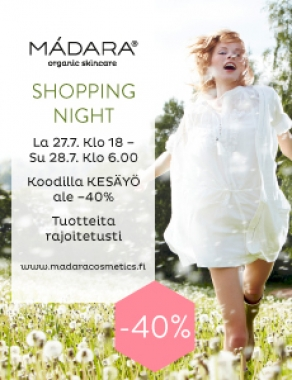 Tänä yönä: Mádara Shopping Night