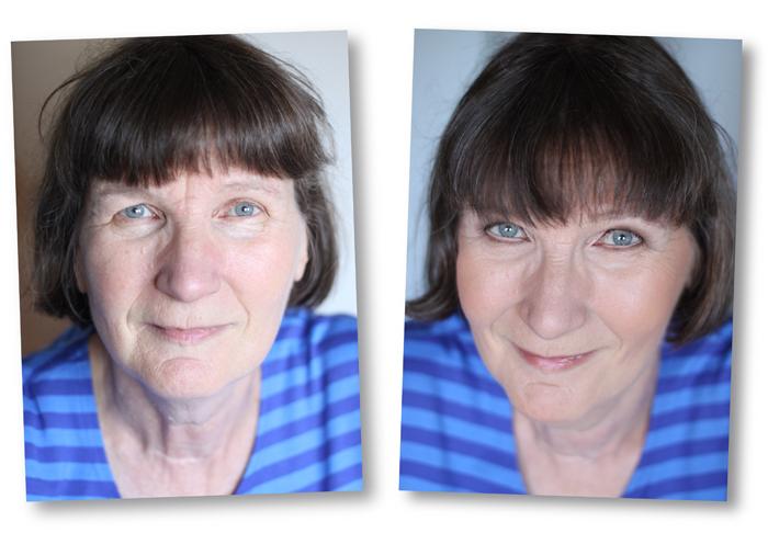 Makeover: Raita 66 vuotta ja poimuluomen varjostus