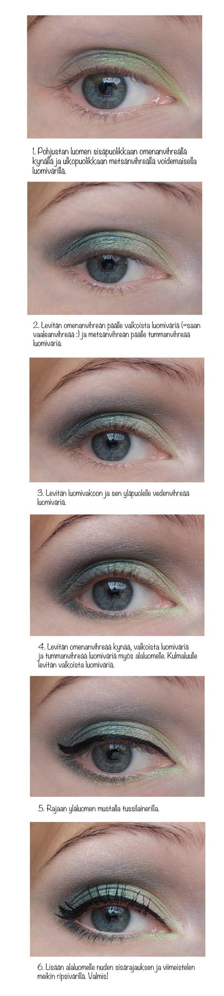 Vihrea_silmameikki_29072013_tutorial