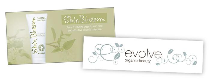 Skin Blossom ja Evolve