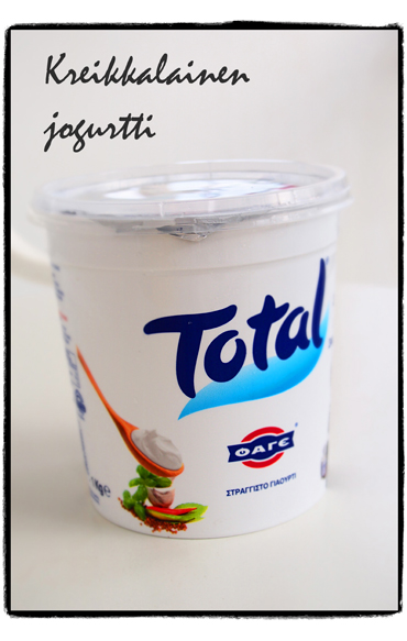 Kuukauden idoli: kreikkalainen jogurtti