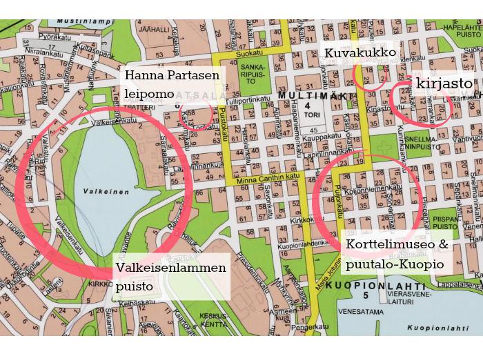 Rakkaimmat Kuopio Paikkani Karkkipaiva Terve Fi