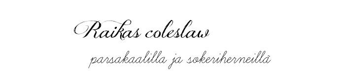 Juhannus_Coleslaw